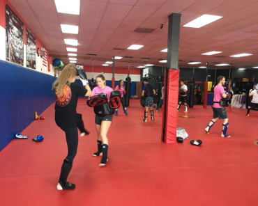 Fitness Kickboxing in Homewood - Spartan Fitness