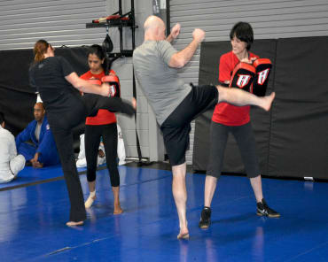 Kickboxing in 	 Rockville - Pure Performance Martial Arts Center