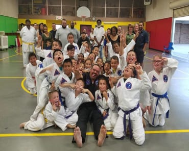 Kids Martial Arts  in New Braunfels - Hill Country Karate