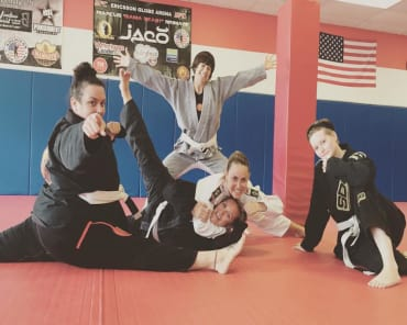 Brazilian Jiu Jitsu in Homewood - Spartan Fitness