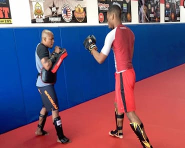 Muay Thai Kickboxing  in Homewood - Spartan Fitness