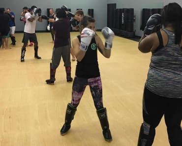 Fitness Kickboxing in Ocean Springs - Alan Belcher MMA Club Ocean Springs