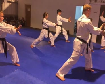 Kids Karate near Waltham Abbey