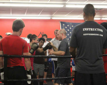 Contact Boxing in Athens - Keppner Boxing