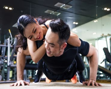 Buddy Fitness Training in Singapore - Vigeo Health & Fitness