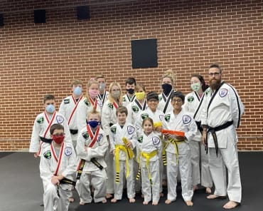 Family Taekwondo near Arab