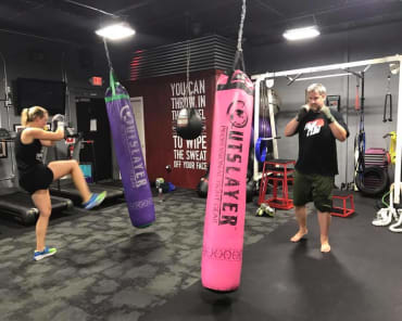 Fitness Kickboxing in Johnston - Rondeau's Kickboxing