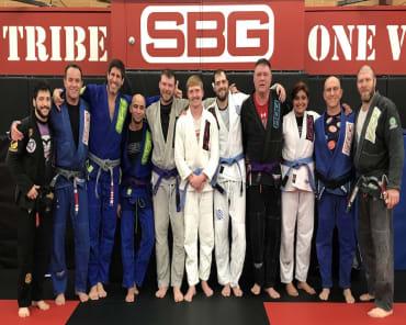 Brazilian Jiu Jitsu in Athens - SBG Athens
