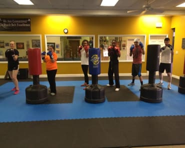 Fitness Kickboxing in Montgomery - Johnson's Martial Arts Academy