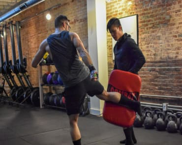 Kickboxing in Baltimore - Charm City CrossFit