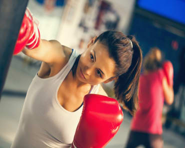 Fitness Kickboxing in Shreveport  - FitBoxing Bootcamp