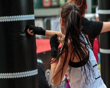 Kickboxing near Riverside