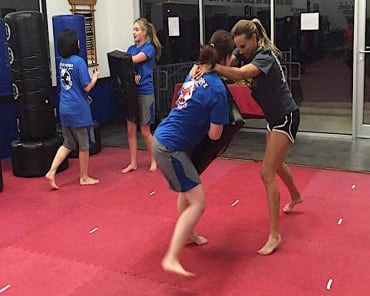 Kickboxing in San Antonio - Talamantez Karate