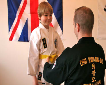 Kids Martial Arts in Teddington - Clarke School of Choi Kwang Do