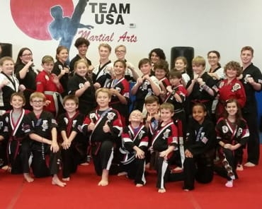 Kids Martial Arts in Queen Creek - DePalma's TEAM USA Martial Arts