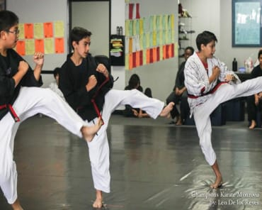 Kids Martial Arts in Monrovia - Champions Karate