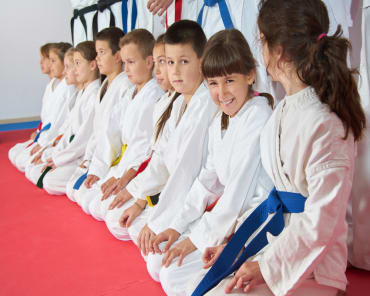 Kids Martial Arts in - Park Karate
