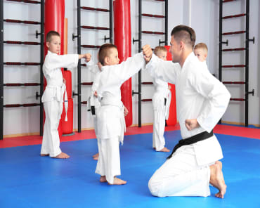 Kids Taekwondo near Goldsboro