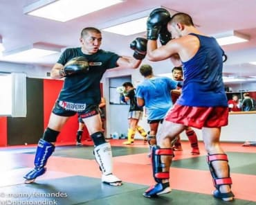 Muay Thai Kickboxing in Ewing - Southeast Asian Martial Arts Academy (SEAMAA)