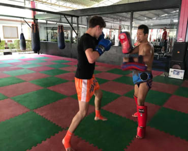 Muay Thai Kickboxing in Tracy - American Top Team Tracy Martial Arts and Kickboxing