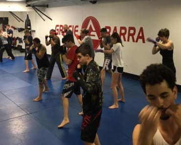 Muay Thai Kickboxing in Burton - Gracie Barra Burton