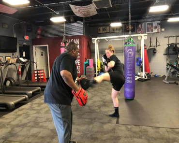 Personal Training in Johnston - Rondeau's Kickboxing