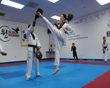 Adult Martial Arts in Woodstock - The ONE Taekwondo Center