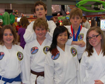 Teen Martial Arts  in Maryville - Church's Taekwondo America