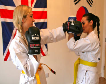 Teen Martial Arts  in Teddington - Clarke School of Choi Kwang Do