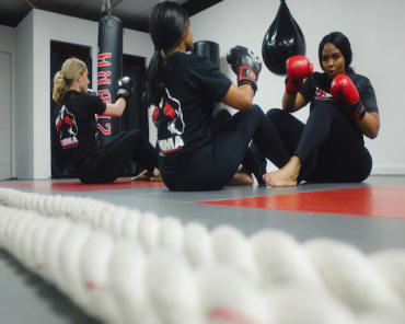 Womens Kickboxing in Baldwin - OMMA Mixed Martial Arts