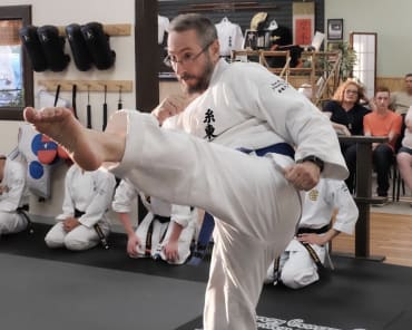 Adult Karate in St. Louis - Dave Hanson's Gateway Karate