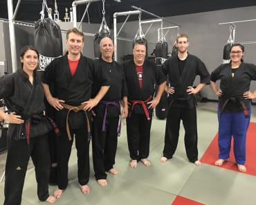 Adult Martial Arts in Tracy - American Top Team Tracy Martial Arts and Kickboxing