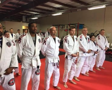 Adult Brazilian Jiu Jitsu in Chesapeake - Da Firma Training Center