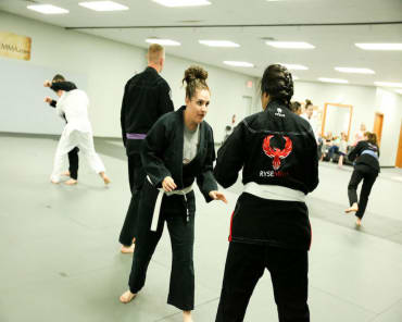 Self Defense  in Woodward - RYSE MMA