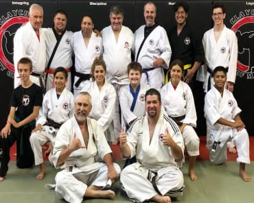 Karate near Fontana