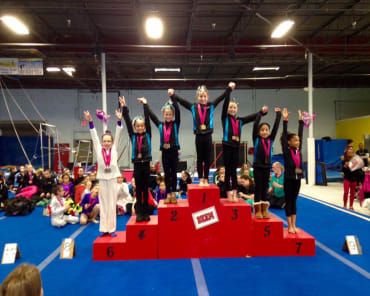 Competitive Gymnastics in Hicksville - Mid Island Gymnastics