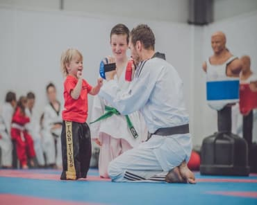 Family Martial Arts  in Wrexham - Ady Jones Taekwondo Schools