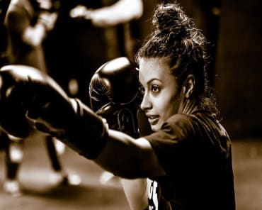 Fitness Kickboxing in Buford - Straight Blast Gym Buford