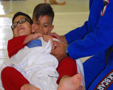 Kids Martial Arts  in Southeast Houston - Grappling Zone