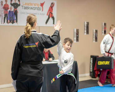 Kids Martial Arts in West Jordan - Leadership Taekwondo