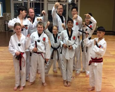 Kids Martial Arts in Folsom - Folsom Academy - Family Taekwondo