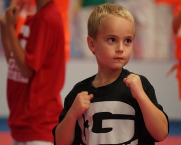 Tiny Tigers in Edwardsville - Grogan's Academy Of Martial Arts