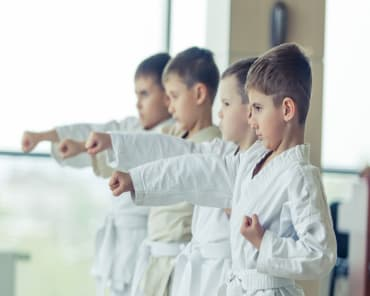kids martial arts prestons