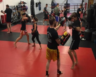 Muay Thai  in CAMBRIDGE - American Martial Arts Center