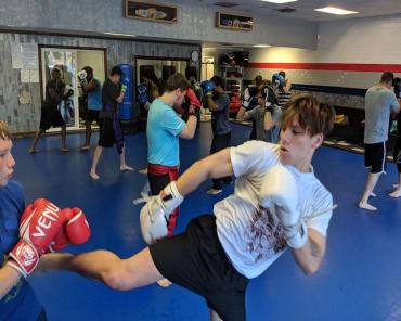 Muay Thai Kickboxing in Greensboro - Konquer Martial Arts Academy