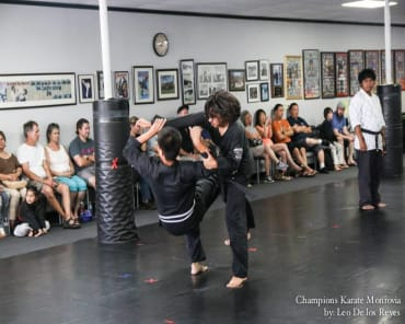 Self Defense in Monrovia - Champions Karate