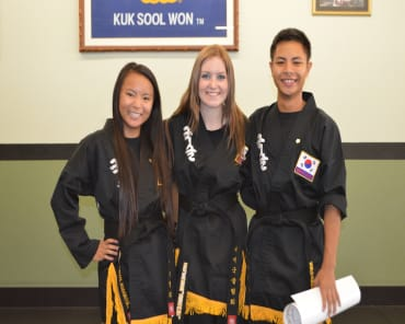 Teen Martial Arts in Woodland - Kuk Sool Won Of Woodland