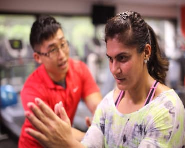 Personal Training  in Singapore - Vigeo Health & Fitness