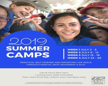 Summer Camp 2019 in Ottawa - 100% Martial Arts & Fitness