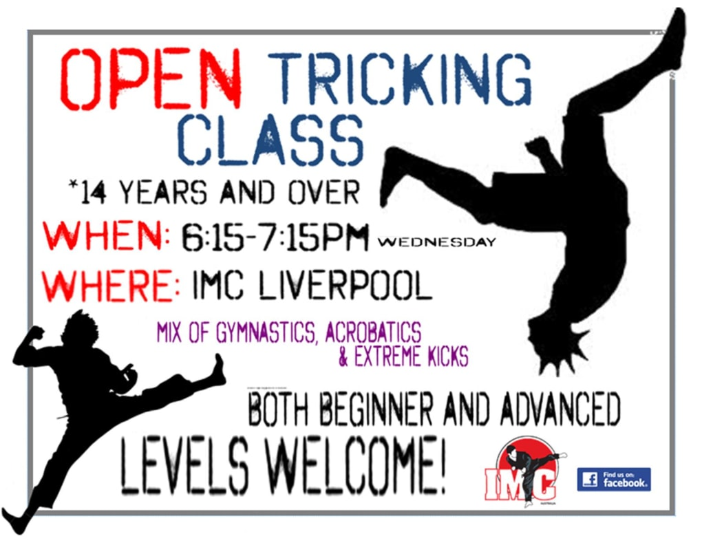 Kids Karate in Prestons and Liverpool - IMC Liverpool - Tricking Class